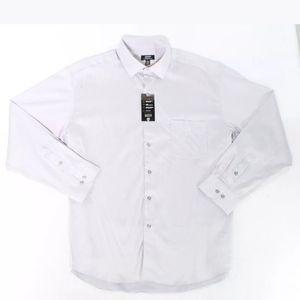 Alfani light gray men's dress shirt